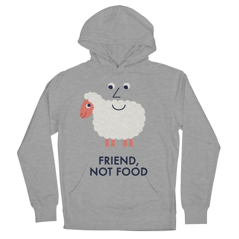 Friend, Not Food Women's Pullover Hoody by Mauro Gatti House of Fun