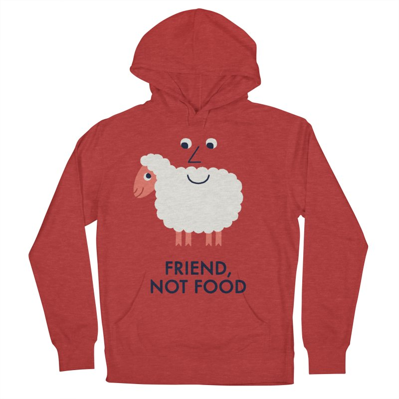 Friend, Not Food Women's  by Mauro Gatti House of Fun