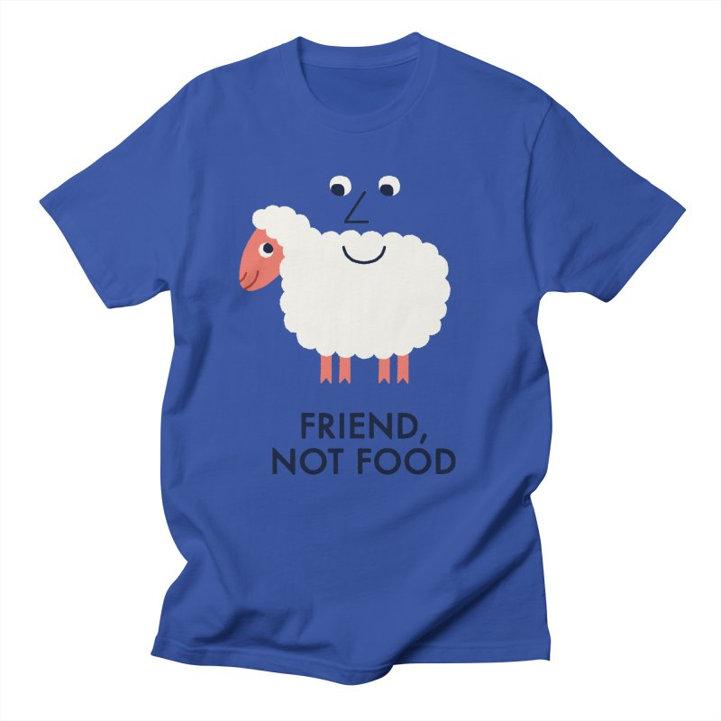 Friend, Not Food Men's Regular T-Shirt by Mauro Gatti House of Fun
