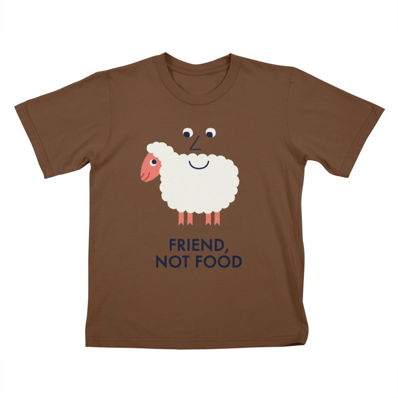 Friend, Not Food Kids T-Shirt by Mauro Gatti House of Fun