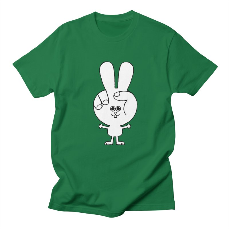 Peace Bunny Men's T-Shirt by Mauro Gatti House of Fun