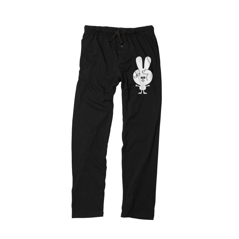 Peace Bunny Men's Lounge Pants by Mauro Gatti House of Fun