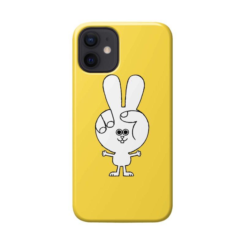 Peace Bunny Accessories Phone Case by Mauro Gatti House of Fun