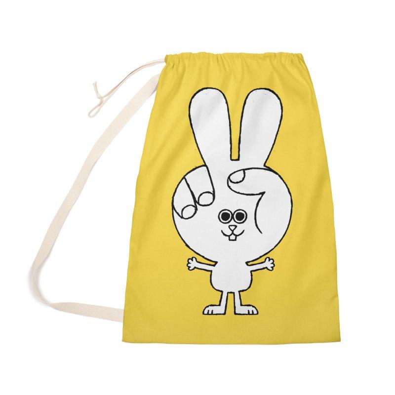 Peace Bunny Accessories Bag by Mauro Gatti House of Fun
