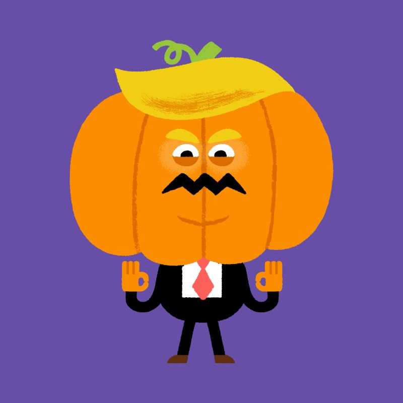 Trumpkin Home Stretched Canvas by Mauro Gatti House of Fun