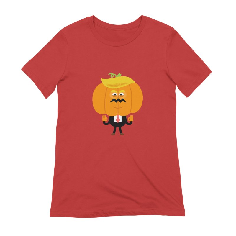 Trumpkin Women's Extra Soft T-Shirt by Mauro Gatti House of Fun