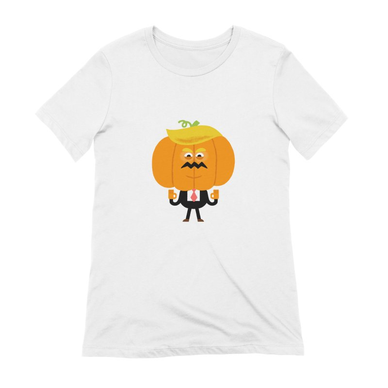 Trumpkin Women's Extra Soft T-Shirt by Mauro Gatti House of Fun