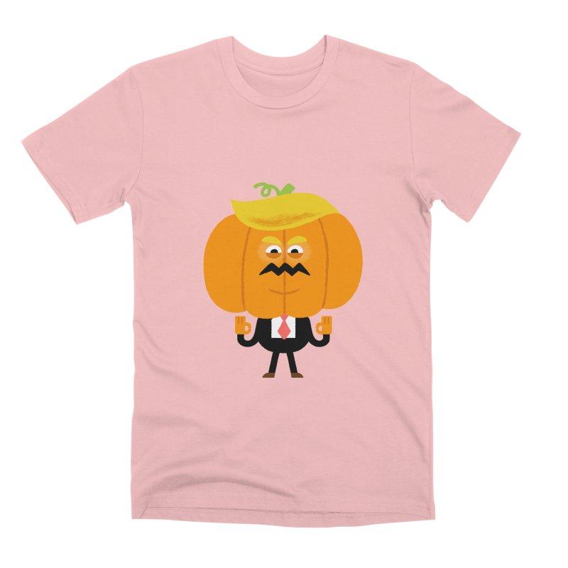 Trumpkin Men's Premium T-Shirt by Mauro Gatti House of Fun