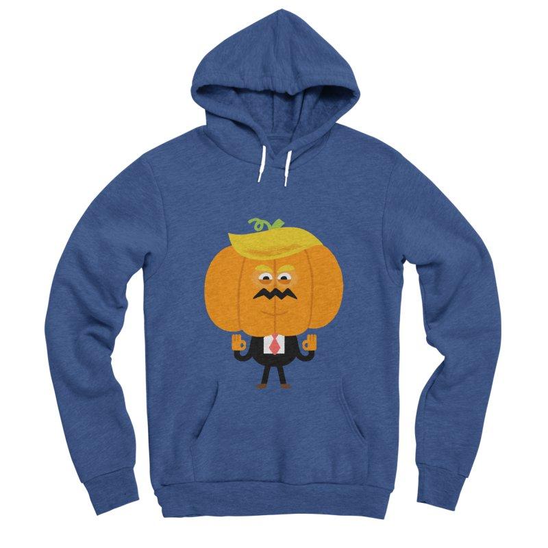 Trumpkin Men's Sponge Fleece Pullover Hoody by Mauro Gatti House of Fun