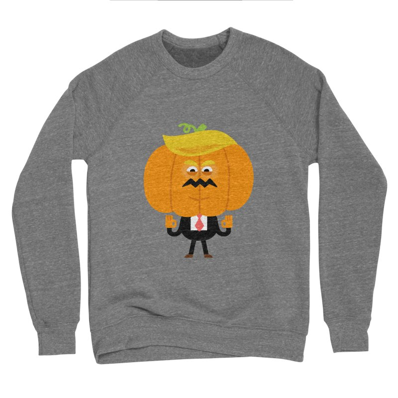Trumpkin Men's Sponge Fleece Sweatshirt by Mauro Gatti House of Fun