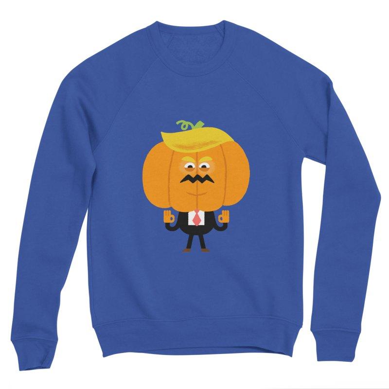 Trumpkin Men's Sponge Fleece Sweatshirt by Mauro Gatti House of Fun