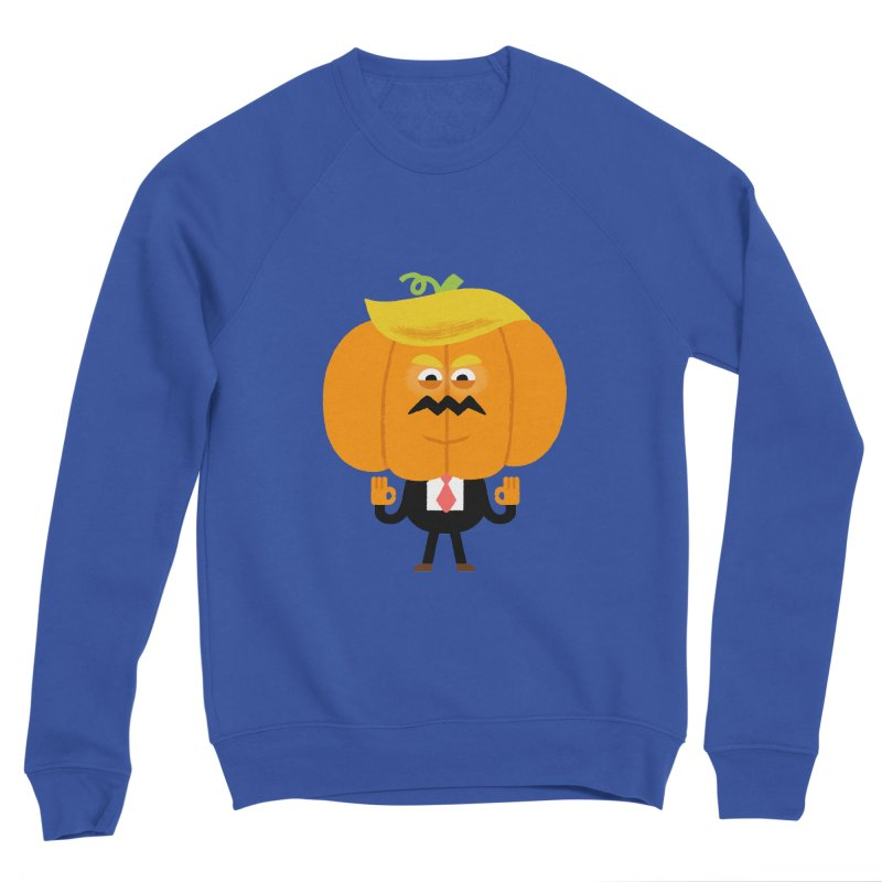 Trumpkin Women's Sponge Fleece Sweatshirt by Mauro Gatti House of Fun