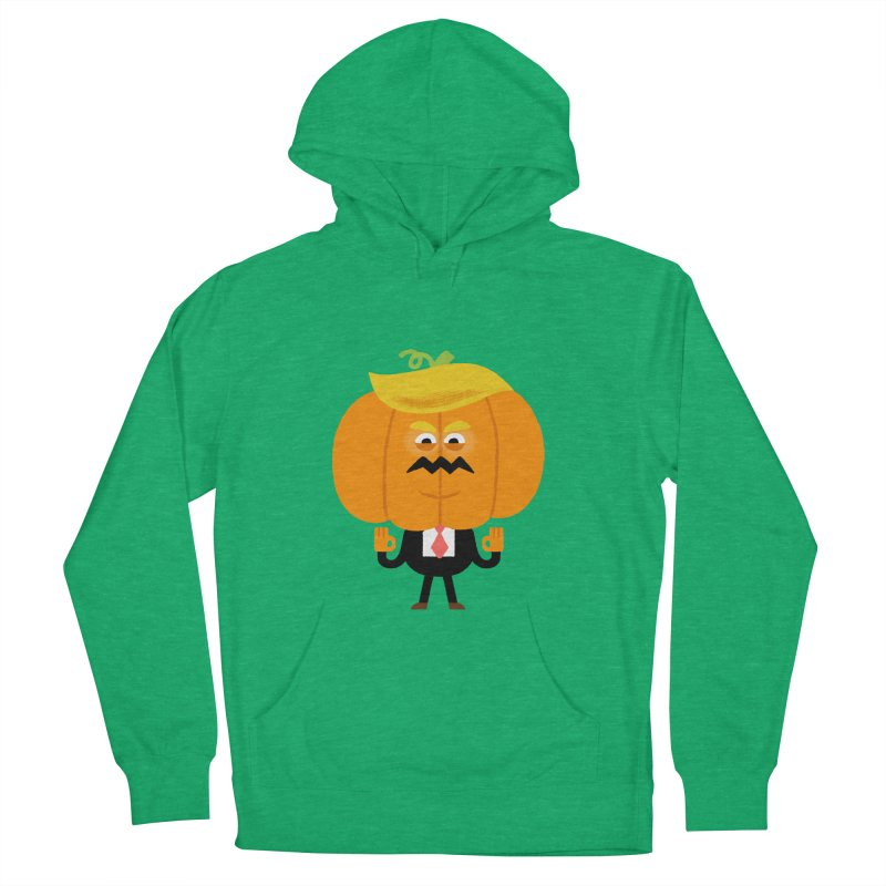 Trumpkin Men's French Terry Pullover Hoody by Mauro Gatti House of Fun