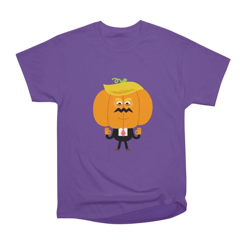 Trumpkin Women's Heavyweight Unisex T-Shirt by Mauro Gatti House of Fun