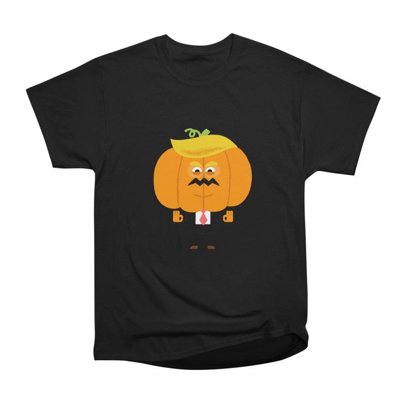 Trumpkin Men's Heavyweight T-Shirt by Mauro Gatti House of Fun