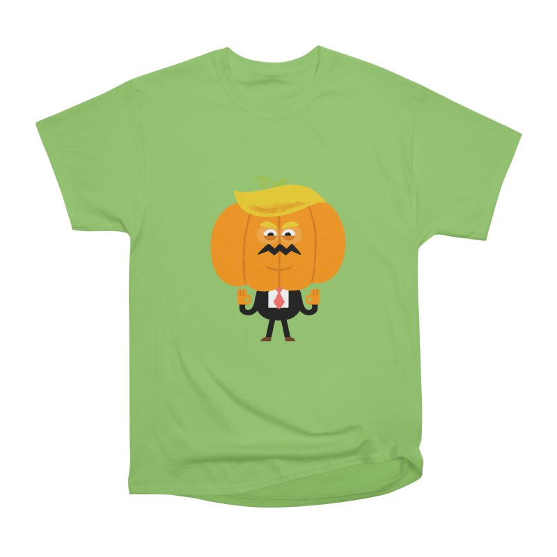 Trumpkin Men's Heavyweight T-Shirt by Mauro Gatti House of Fun