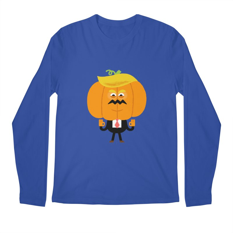 Trumpkin Men's Regular Longsleeve T-Shirt by Mauro Gatti House of Fun