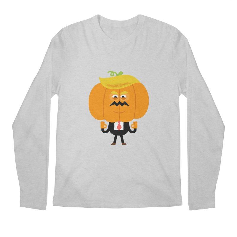 Trumpkin Men's Regular Longsleeve T-Shirt by Mauro Gatti House of Fun