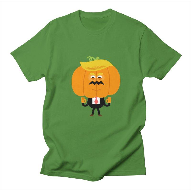 Trumpkin Women's Regular Unisex T-Shirt by Mauro Gatti House of Fun