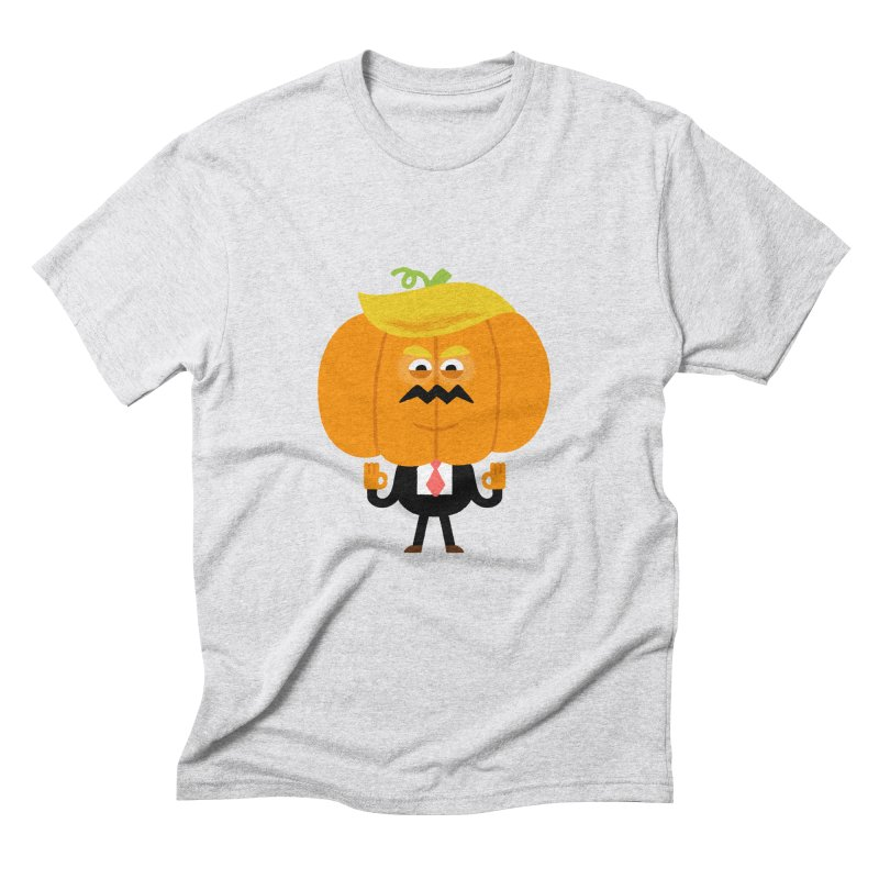 Trumpkin Men's Triblend T-Shirt by Mauro Gatti House of Fun