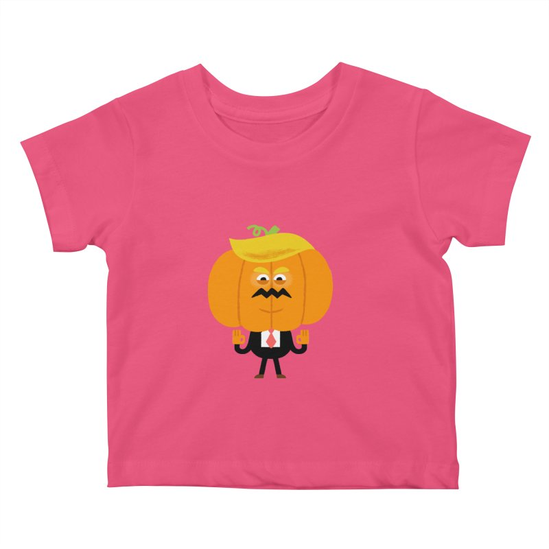 Trumpkin Kids Baby T-Shirt by Mauro Gatti House of Fun