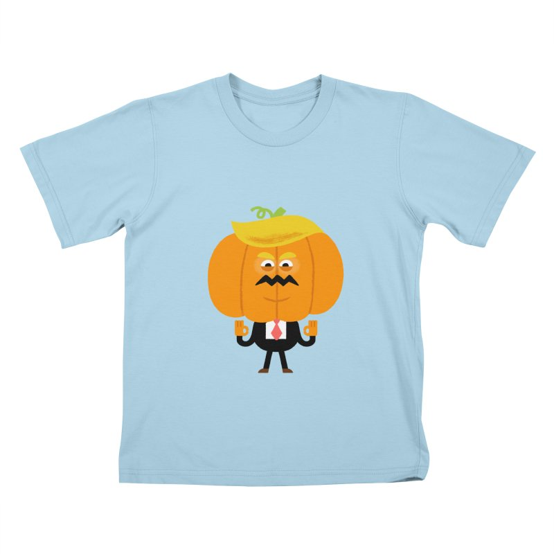 Trumpkin Kids T-Shirt by Mauro Gatti House of Fun