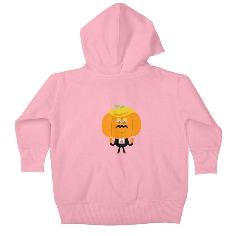 Trumpkin Kids Baby Zip-Up Hoody by Mauro Gatti House of Fun