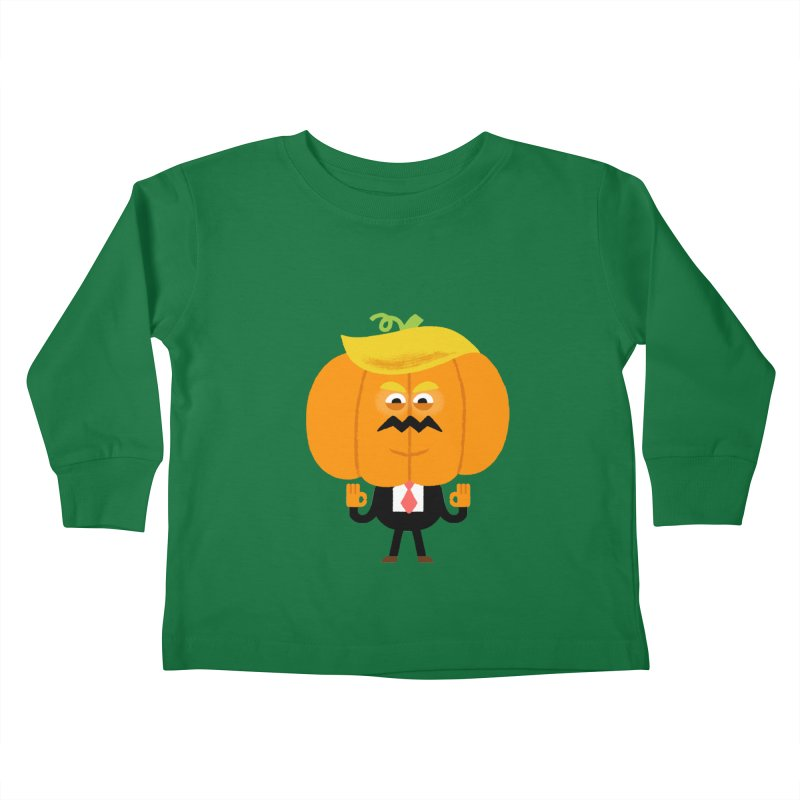 Trumpkin Kids Toddler Longsleeve T-Shirt by Mauro Gatti House of Fun