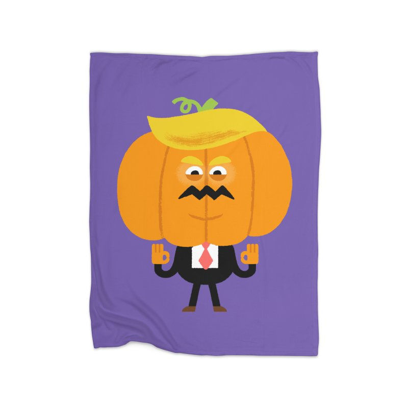 Trumpkin Home Fleece Blanket Blanket by Mauro Gatti House of Fun