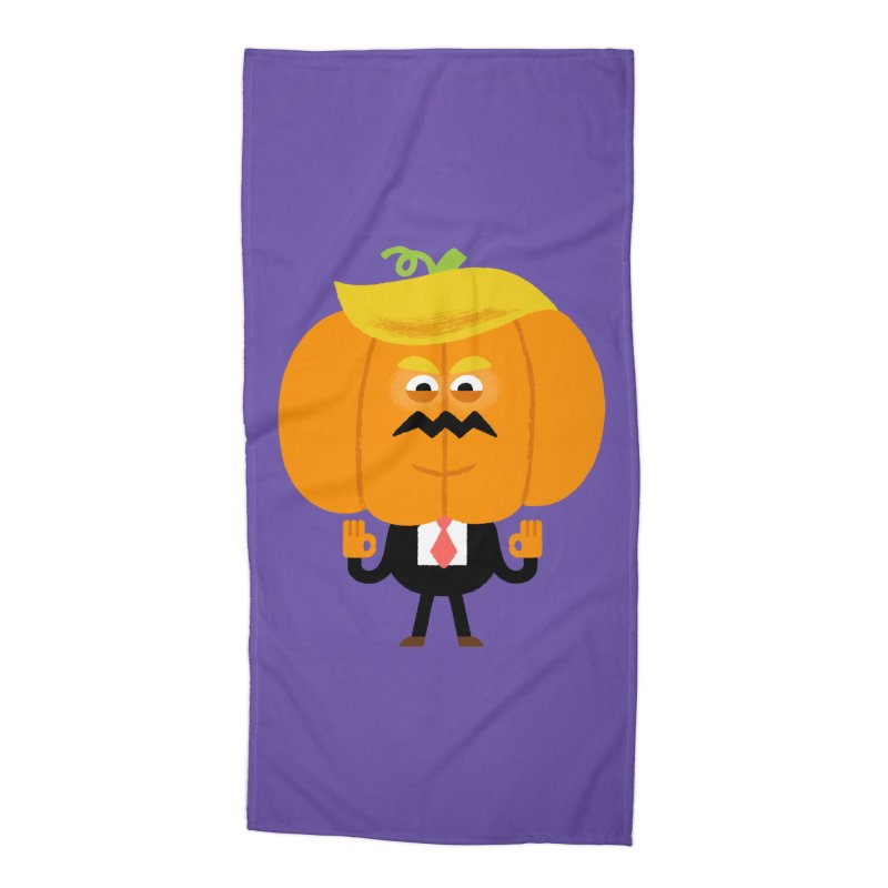 Trumpkin Accessories Beach Towel by Mauro Gatti House of Fun