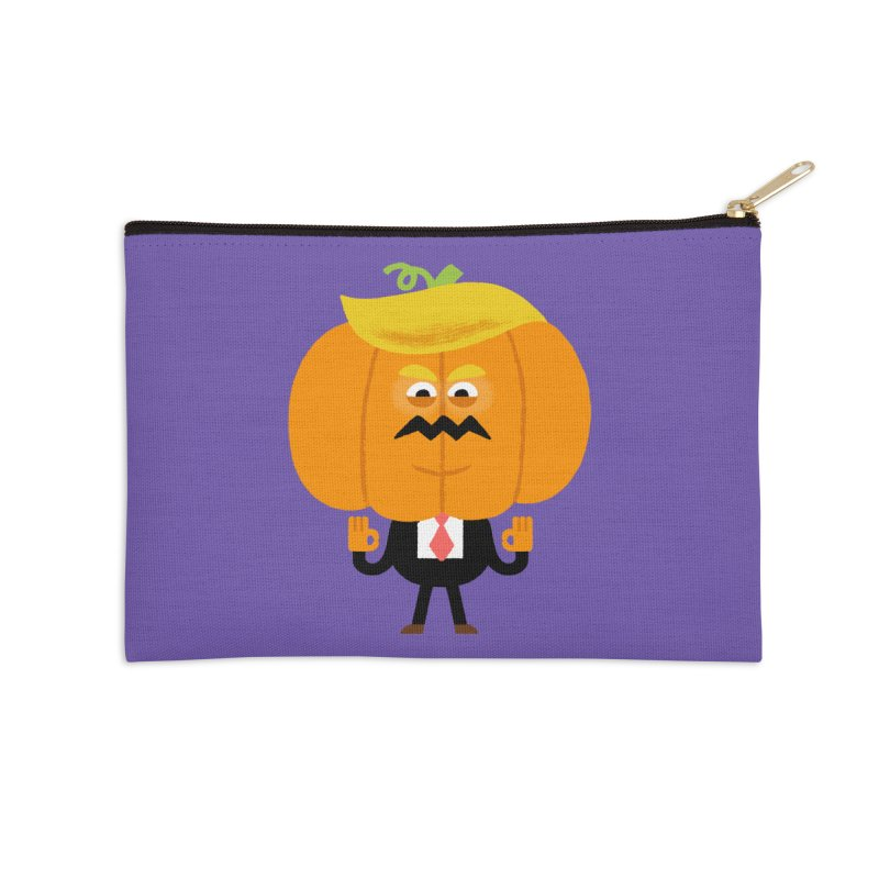Trumpkin Accessories Zip Pouch by Mauro Gatti House of Fun