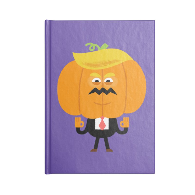 Trumpkin Accessories Lined Journal Notebook by Mauro Gatti House of Fun