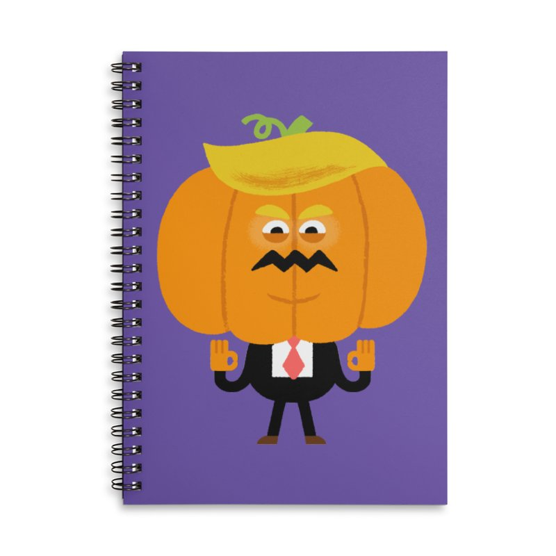 Trumpkin Accessories Lined Spiral Notebook by Mauro Gatti House of Fun