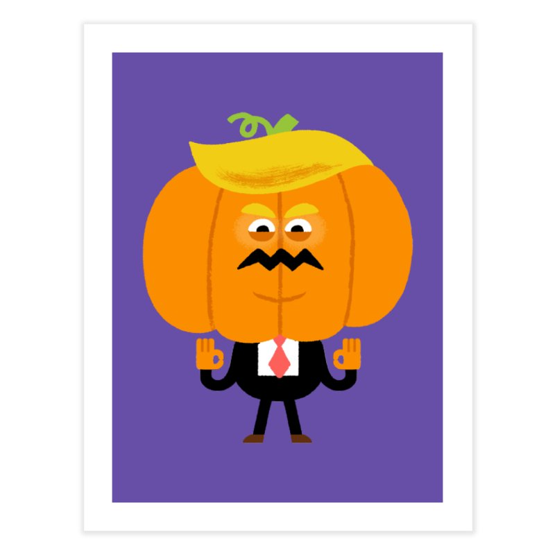 Trumpkin Home Fine Art Print by Mauro Gatti House of Fun