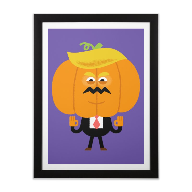 Trumpkin Home Framed Fine Art Print by Mauro Gatti House of Fun
