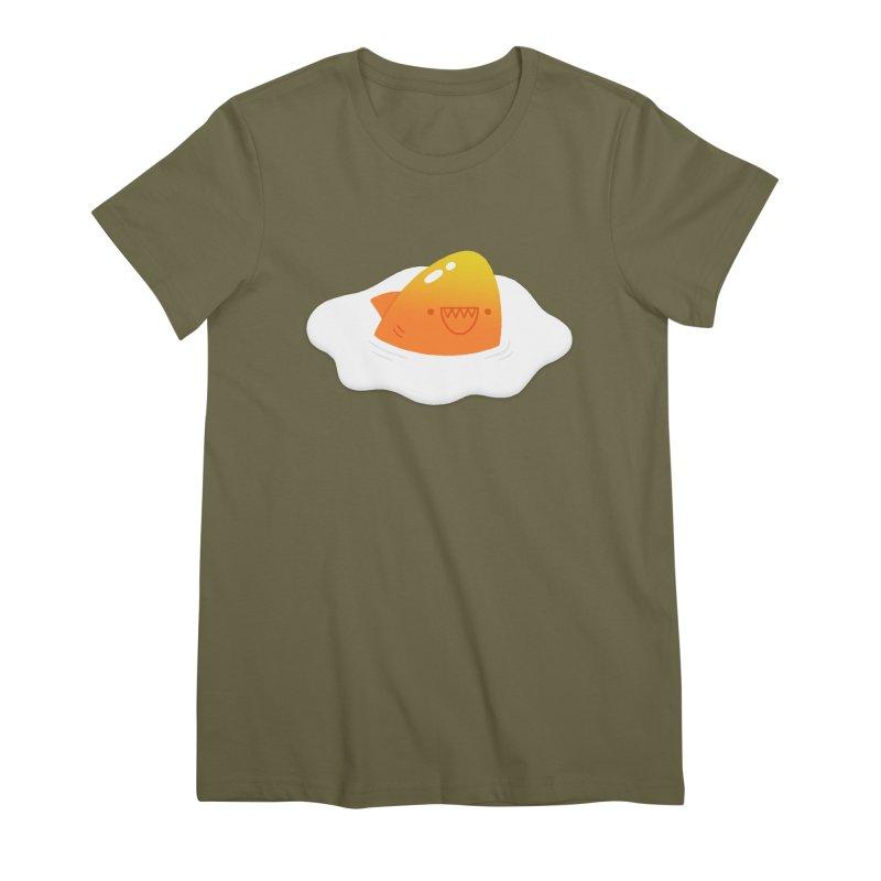Dangerous Breakfast Women's Premium T-Shirt by Mauro Gatti House of Fun