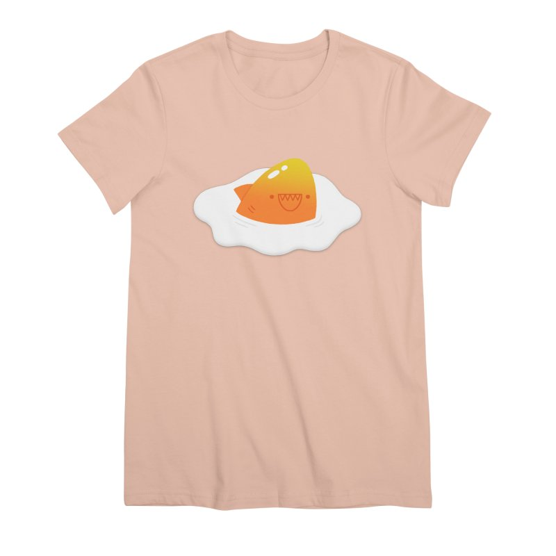 Dangerous Breakfast Women's Premium T-Shirt by Mauro Gatti House of Fun