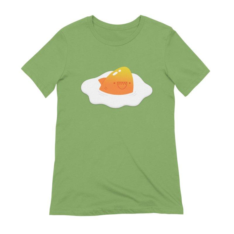Dangerous Breakfast Women's Extra Soft T-Shirt by Mauro Gatti House of Fun