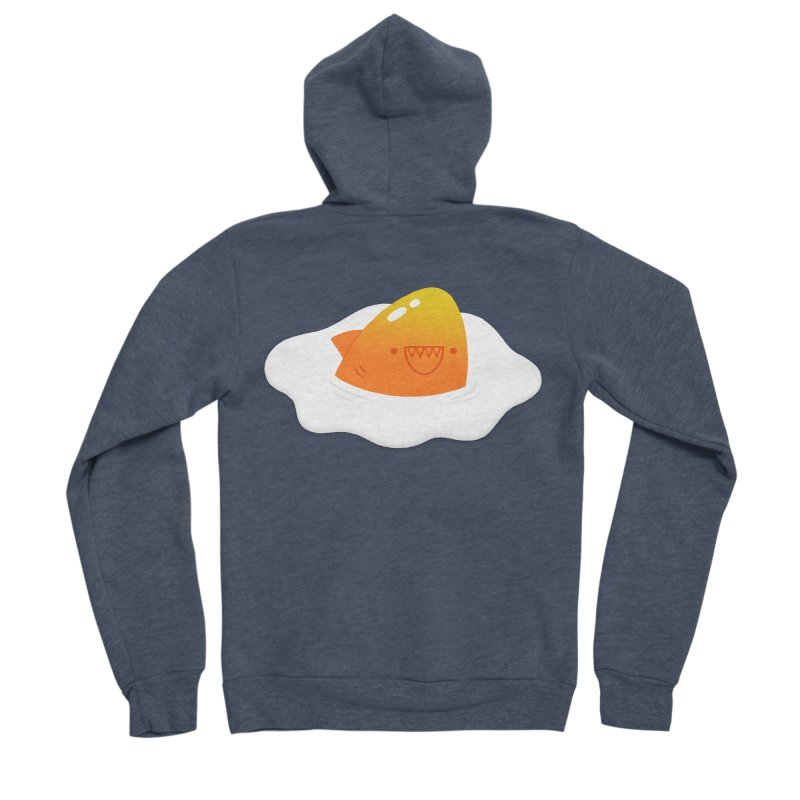 Dangerous Breakfast Men's Sponge Fleece Zip-Up Hoody by Mauro Gatti House of Fun
