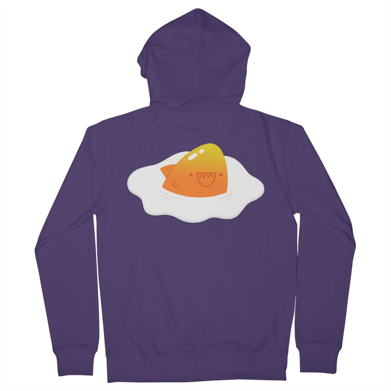 Dangerous Breakfast Women's French Terry Zip-Up Hoody by Mauro Gatti House of Fun