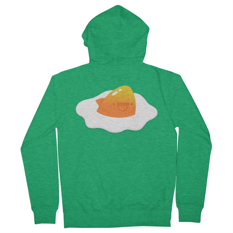 Dangerous Breakfast Men's French Terry Zip-Up Hoody by Mauro Gatti House of Fun