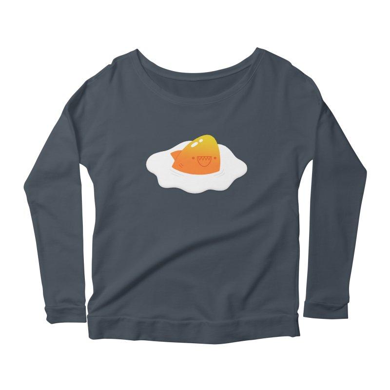 Dangerous Breakfast Women's Scoop Neck Longsleeve T-Shirt by Mauro Gatti House of Fun