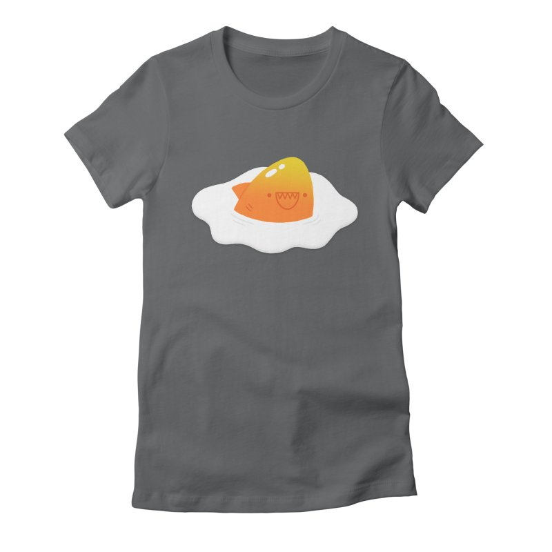 Dangerous Breakfast Women's Fitted T-Shirt by Mauro Gatti House of Fun