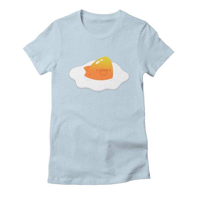 Dangerous Breakfast Women's Fitted T-Shirt by Mauro Gatti House of Fun