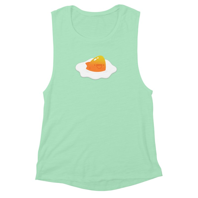 Dangerous Breakfast Women's Muscle Tank by Mauro Gatti House of Fun