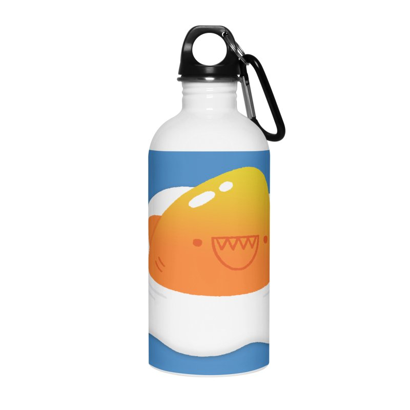 Dangerous Breakfast Accessories Water Bottle by Mauro Gatti House of Fun