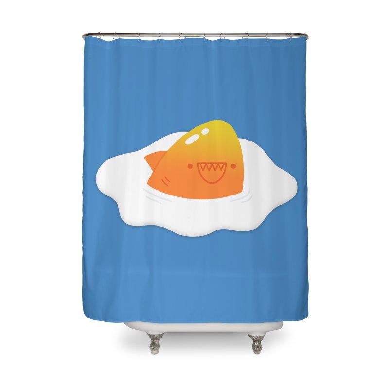 Dangerous Breakfast Home Shower Curtain by Mauro Gatti House of Fun