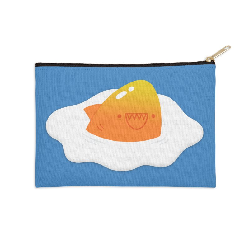 Dangerous Breakfast Accessories Zip Pouch by Mauro Gatti House of Fun