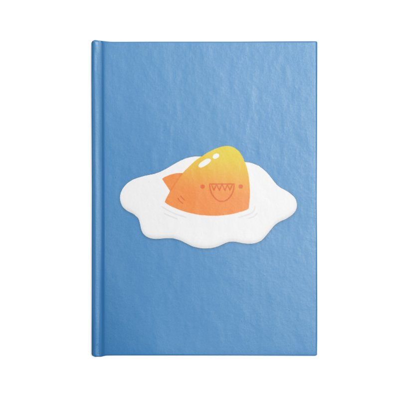 Dangerous Breakfast Accessories Blank Journal Notebook by Mauro Gatti House of Fun