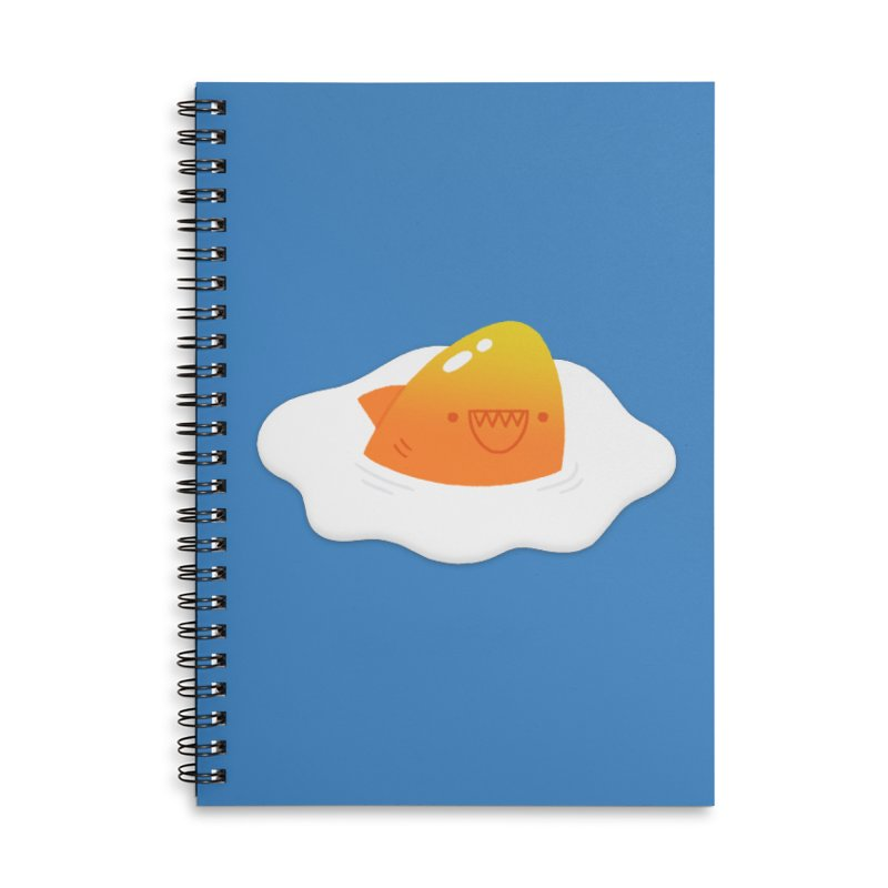 Dangerous Breakfast Accessories Lined Spiral Notebook by Mauro Gatti House of Fun
